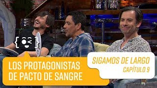 Capítulo 9: Álvaro Espinoza, Néstor Cantillana y Pablo Macaya   Sigamos de Largo 2019