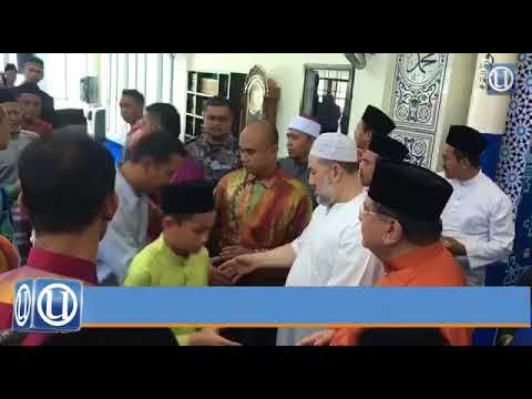 Agong rasmi masjid Sultan Muhammad V di Labuan