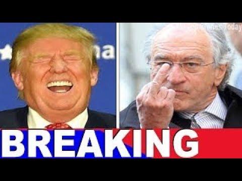 De Niro Bans Trump From Every 'Nobu Restaurant, POTUS Gives Him Nasty Surprise