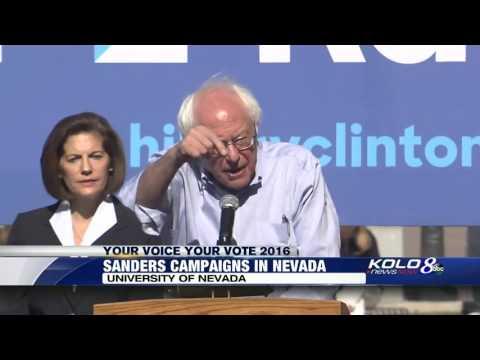 KOLO: Bernie Sanders campaigns with Catherine Cortez Masto in Reno