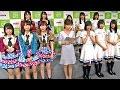 【HD 60fps】 HKT48 vs 欅坂46 ジェスチャーゲームで対決 (2016.10.12)