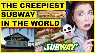 The Creepiest Subway In The World | Haunted Restaurants