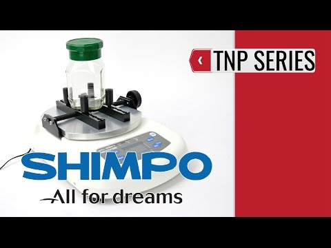 SHIMPO TNP Cap Torque Tester (product video presentation)