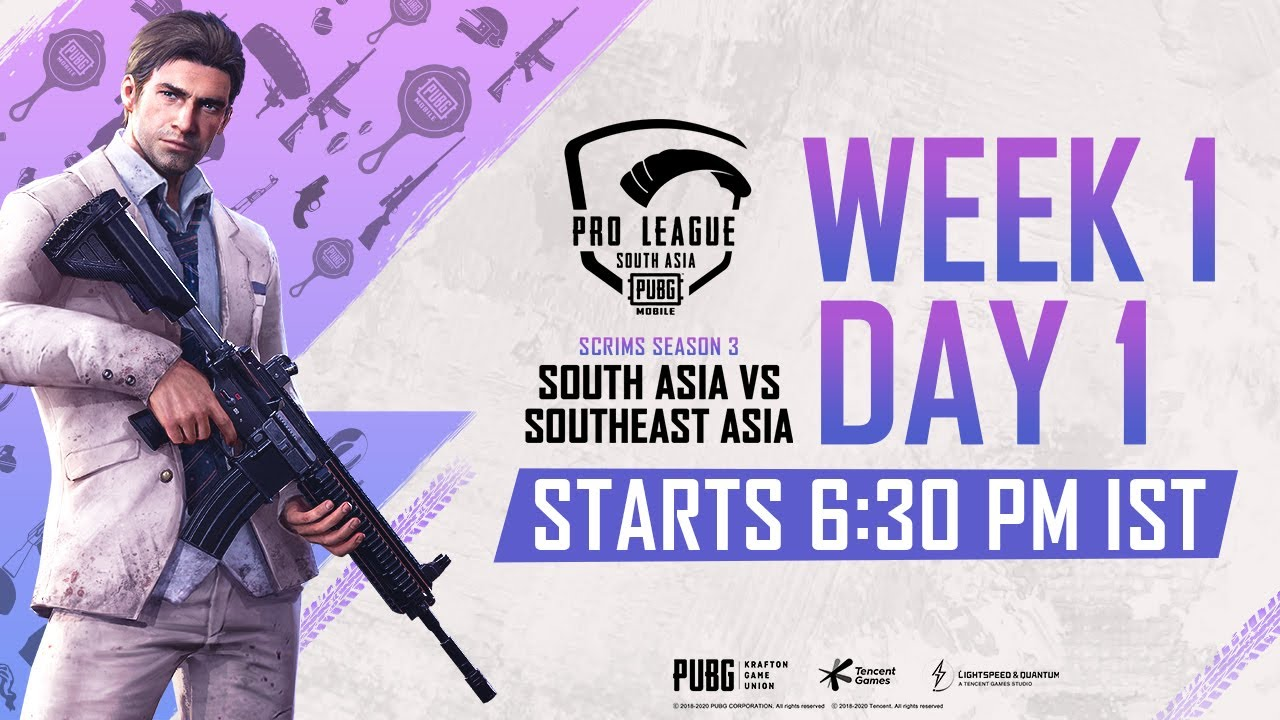 [Hindi] PMPL Scrims S3 Day 1 | A vs B | PUBG MOBILE Pro League