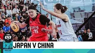 Japan v China - Semi-Finals - Women's Full Game - FIBA 3x3 Asia Cup 2018