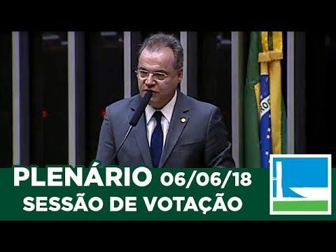 PLENÁRIO - Sessão Deliberativa - 06/06/2018 - 18:29