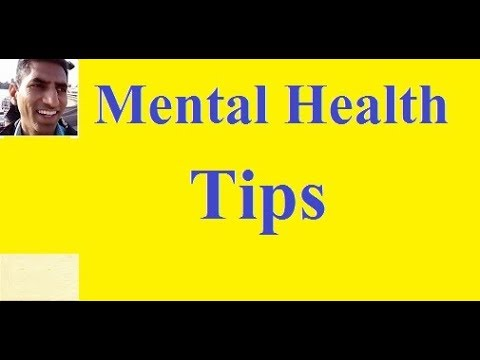 Mental Health Tips in Hindi