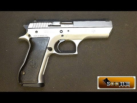 IMI Jericho 941F Police Trade In 9mm Pistol Review