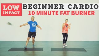 10 minute LOW IMPACT fun cardio workout. No equipment. screenshot 5