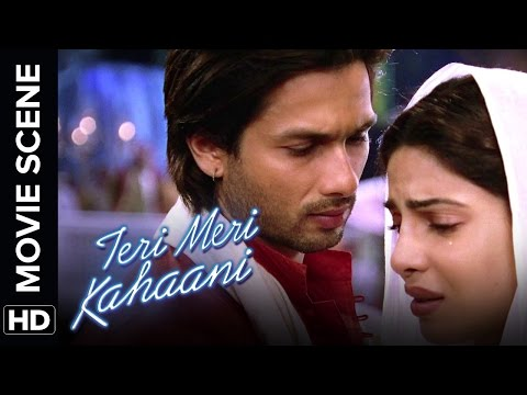 Shahid realizes his love | Teri Meri Kahaani | Movie Scene