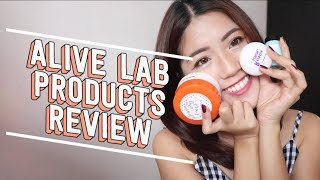 Alive Lab K-Beauty Review (Cotton Candy Ball, Centella Dressing...) | thatxxRin