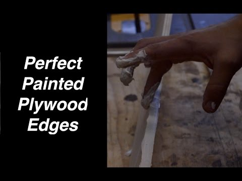 Perfect Painted Plywood Edges Tip #1