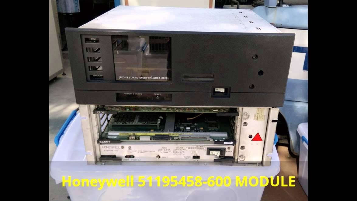 Honeywell TDC3000/621 I/O SYSTEM/51195458-600 MODULE/51199193-100 DCS LCD MONITOR