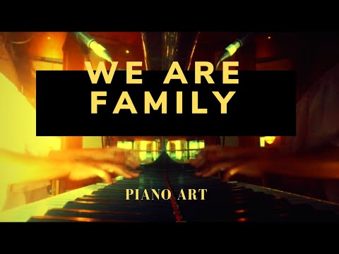 PIANO ART Sessions | WE ARE FAMILY | Spanish Pianist ! LIVE MUSIC COVER