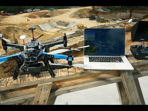3D Robotics X8+ UAV Structure Scan Demo Using DroidPlanner 2.0