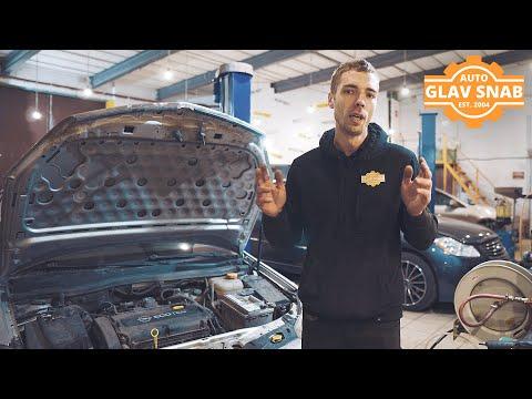 Opel Astra H — сильный писк и свист из-под капота, ищем и устраняем причину. Замена помпы.