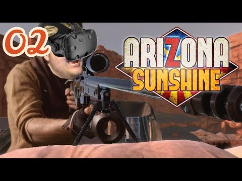 Arizona Sunshine - (Part 02) | Mines, Trains & DEATH!!!