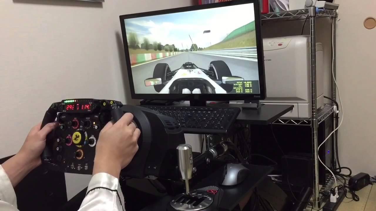 Thrustmaster T300rs Amp Ferrari F1 Wheel Modify Youtube