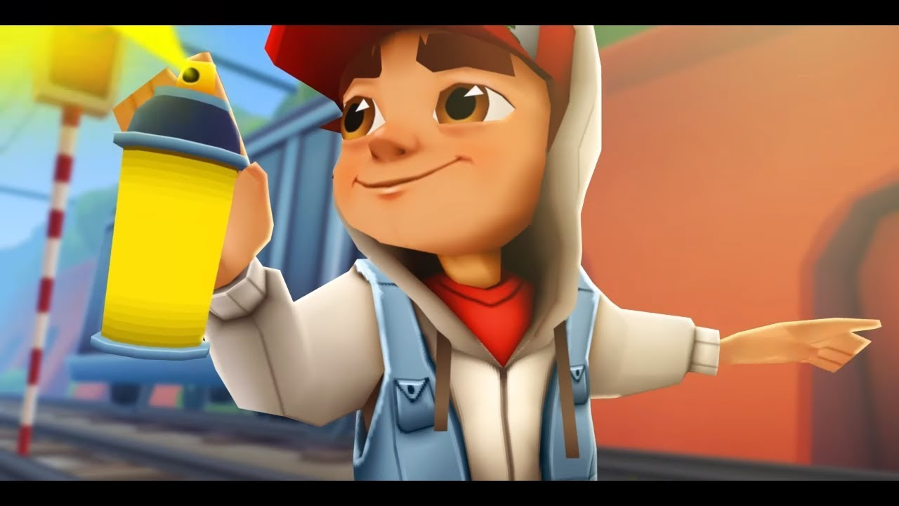 Subway Surfers Jake And Tricky Kiss
