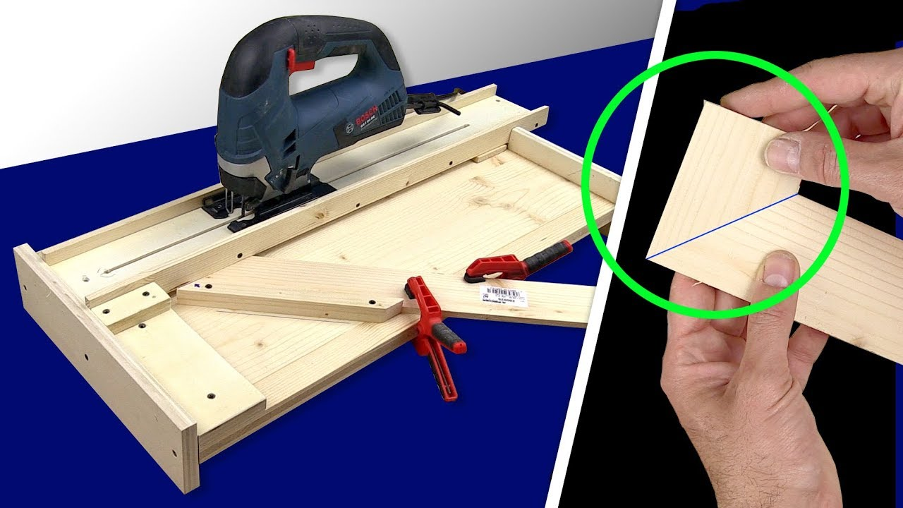 Perfetc Cut  Jigsaw Table Cutting Station Diy  Youtube