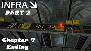 Infra: part 2 [Ending] 2016 [PC] Walkthrough Gameplay #07 Chapter 7: Working Overtime