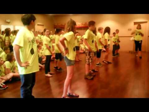 Alma Intermediate School Honor Choir, Alma, Arkansas, at Alma Healthcare & Rehab 5-9-17