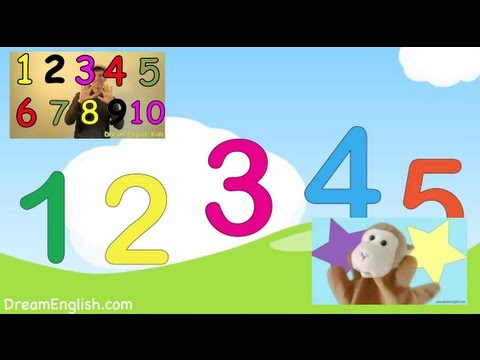 Kids Numbers Song Collection | 5 Songs | Dream English Kids with ...