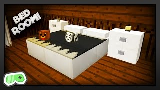 Minecraft - How To Get Realistic Bedroom Furniture