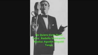 Osvaldo fresedo - Roberto Ray - No Quiero Verte Llorar - Tango