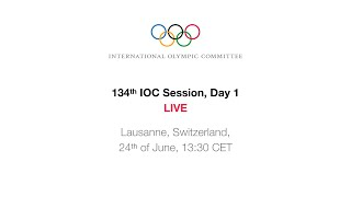 134th IOC Session - Election of the Host City for the Olympic Winter Games 2026