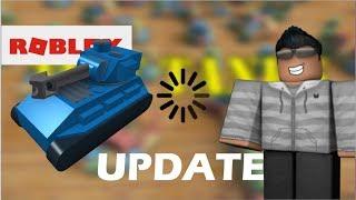Roblox Kleine Tanks und UPDATE!