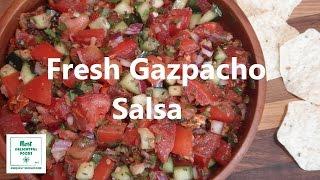 Fresh Gazpacho Salsa