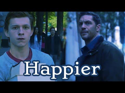 Happier (Eddie Brock x Peter Parker)