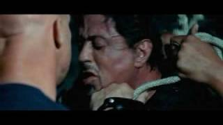 The Expendables  fight scene