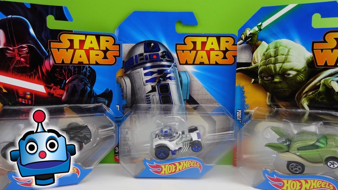 On Star 52 Darth SkywalkerYodaR2 Go08 The Hot Juguetes WarsToys Wars VaderLuke Wheels D2Chewbacca Hd shrtQCdxB