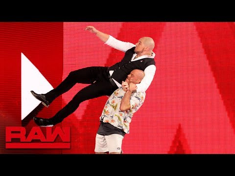 Kurt Angle gets retribution against Acting GM Baron Corbin: Raw, Oct. 15, 2018