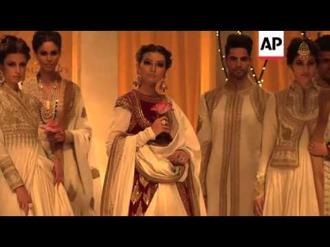 Designer Rohit Bal showcases bridal collection