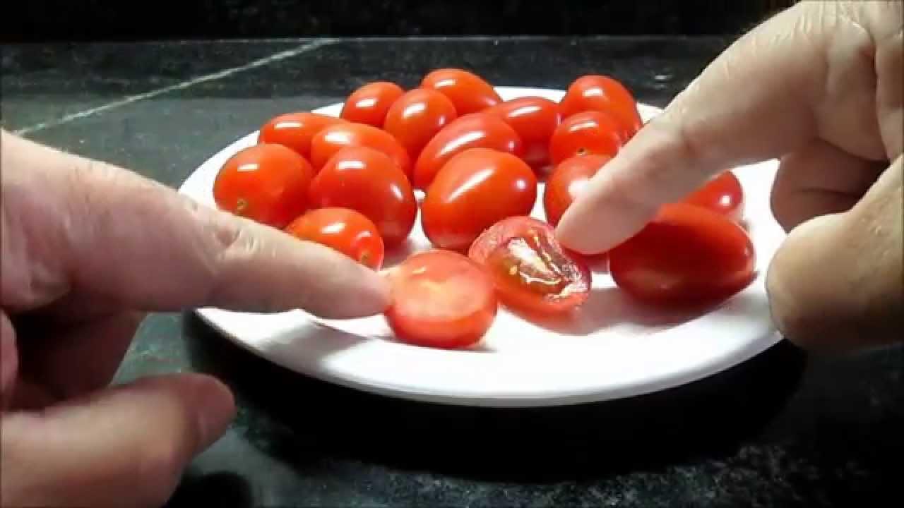 36 tomate cherry 1 extracci n de semillas maceta y - Tomates cherry en maceta ...
