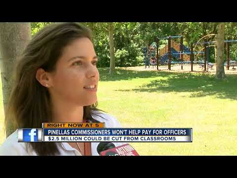 Pinellas Commissioners won't fund school resource officers