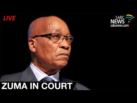 Zuma appears before Durban Magistrates' Court, 08 June 2018
