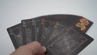 Video: Bicycle Asteroid Playing Cards