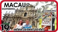 GLÜCKSSPIEL + Sightseeing in MACAU - China | ICC-Tower | Auslandsjahr Hong Kong | VLOG #19