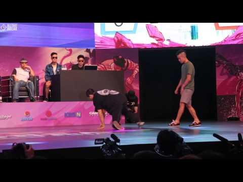 VISION v C-LIL / TOP16 / R16 2014 Final Bboy 1 on 1 / Allthatbreak.com