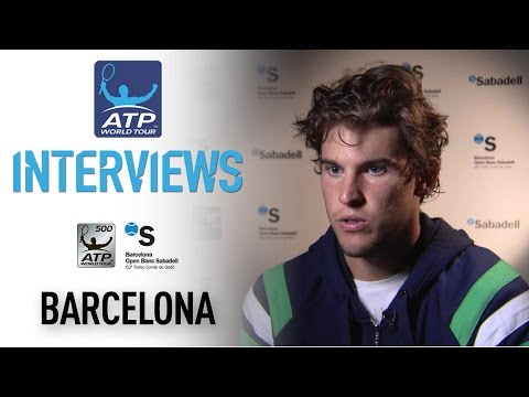 Thiem Talks First Win Over Murray At Barcelona 2017