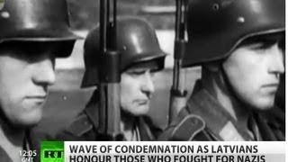 Video Nazi Heroes? Waffen SS hailed in Latvia download MP3, 3GP, MP4, WEBM, AVI, FLV November 2018