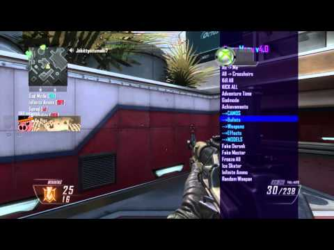 Black Ops 2 - Jiggy Menu v3 7 & v4 Multi GSC Mod Menu Tu18 / 1 19 +