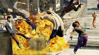 GTA 5 Die Hard - Slow Motion Kills 03