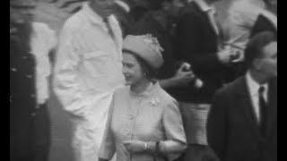 Queen Elizabeth II visits Newcastle - 1970