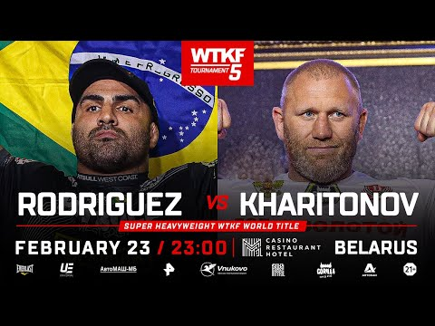 WTKF5: Сергей Харитонов vs Fernando Rodrigues