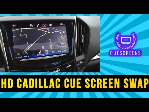How to replace Cadillac CUE screen to fix unresponsive / random touch issue  *Easy Method*